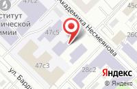 Схема проезда до компании Лабмир в Москве