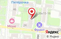 Схема проезда до компании Тиасур в Москве