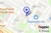 Схема проезда до компании ПАРФЮМЕРНЫЙ МАГАЗИН ЕВРОПРЕСТИЖ в Москве