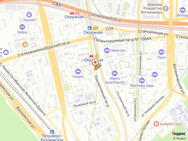 Остановка Ин-т Стройфизики в Москве