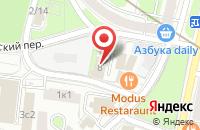 Схема проезда до компании Бизнес Информ в Москве