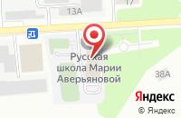 Схема проезда до компании Академия-Ххi в Подольске