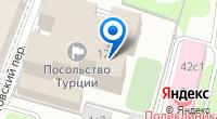 Компания Посольство Турецкой Республики в г. Москве на карте