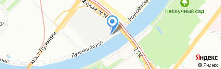 Краслекс на карте Москвы