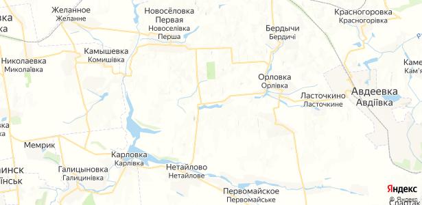 Уманское на карте