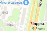 Схема проезда до компании BeautyChe в Москве