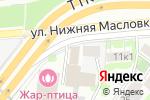 Схема проезда до компании Бентли Партс Плюс в Москве