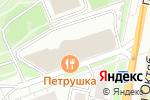Схема проезда до компании D-Com в Москве