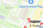 Схема проезда до компании ВТБ Банк Москвы в Москве