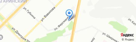 Детский сад №53 на карте Москвы