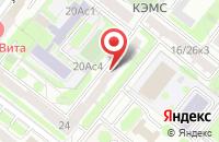 Схема проезда до компании Одеон Лтд в Москве