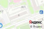Схема проезда до компании ЦАРТР в Москве