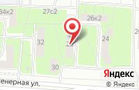 Схема проезда до компании Импульс Плюс в Москве