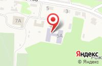 Схема проезда до компании Детский сад в Рождественском