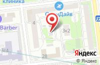 Схема проезда до компании Эском в Москве