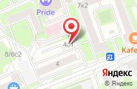 Схема проезда до компании Студия Афт в Москве