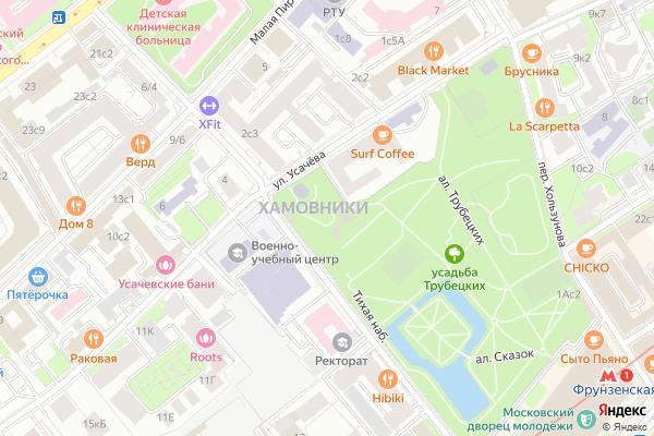 Ремонт телевизоров Район Хамовники на яндекс карте