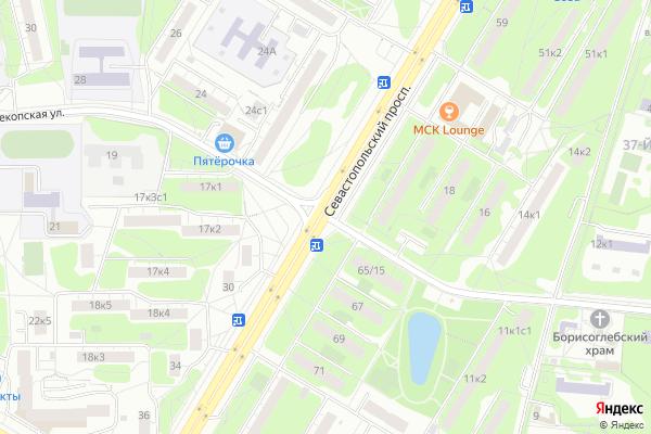 Ремонт телевизоров Улица Перекопская на яндекс карте