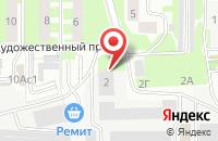 Схема проезда до компании Осмонт Ру в Подольске