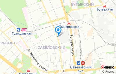 Местоположение на карте пункта техосмотра по адресу г Москва, ул Башиловская, д 24