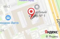 Схема проезда до компании Фмрус в Москве