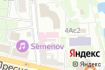 Схема проезда до компании Елизавета в Москве