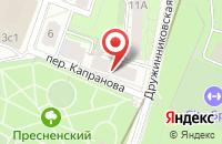 Схема проезда до компании Артель Благовест в Москве