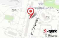 Схема проезда до компании Лайт Трейдинг в Москве