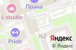 Схема проезда до компании sms4b в Москве