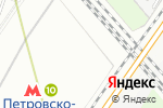 Схема проезда до компании Источники света в Москве