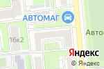 Схема проезда до компании Wonder life в Москве