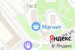Схема проезда до компании Угол в Москве