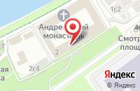 Схема проезда до компании Новация в Москве