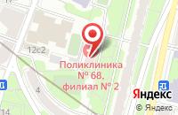 Схема проезда до компании Типография ЦВЕТ в Москве