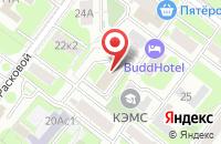 Схема проезда до компании Рутэк-Арт в Москве