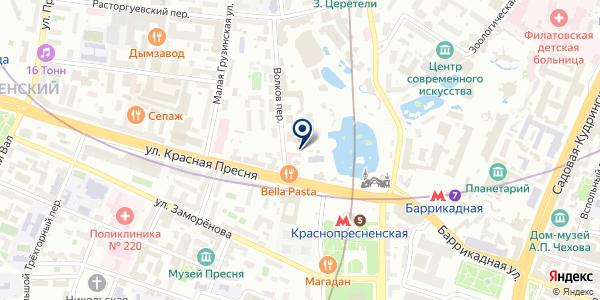 Магазин сувениров на карте Москве