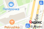 Схема проезда до компании Про Боно Био в Москве