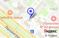 Схема проезда до компании ПТФ БЕЛКО 2001 в Москве