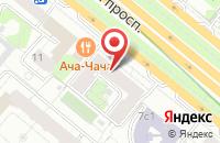 Схема проезда до компании Интерлайн в Москве