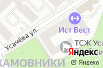 Схема проезда до компании Amdex Group в Москве
