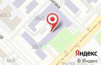 Схема проезда до компании Инэос в Москве