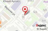 Схема проезда до компании Мастер Сервис в Москве