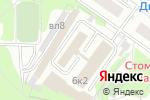 Схема проезда до компании ЛидерСтрой в Москве