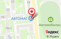 Схема проезда до компании Импульс-Пресс в Москве