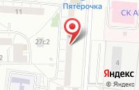 Схема проезда до компании Элит-Сервис в Москве