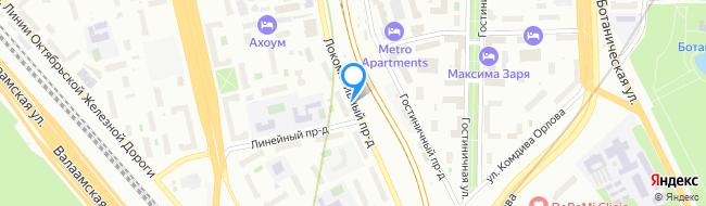 Локомотивный проезд