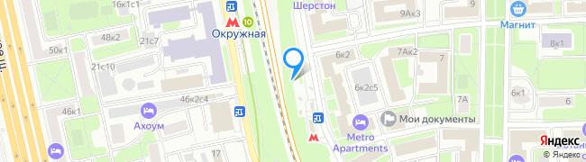 метро Окружная