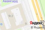 Схема проезда до компании Adelite в Москве