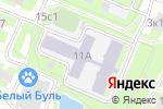 Схема проезда до компании Данс-колледж в Москве