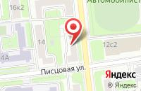 Схема проезда до компании Форте в Москве